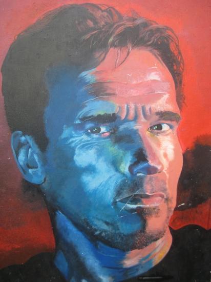Arnold Schwarzenegger by deano800